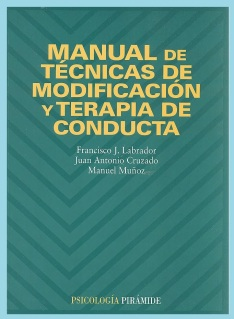 portada manual de técnicas de modificación de conducta