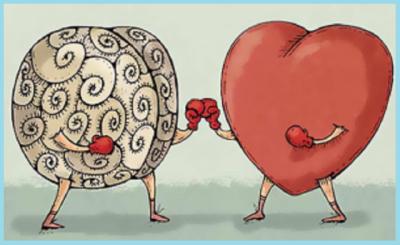 cerebro contra corazon