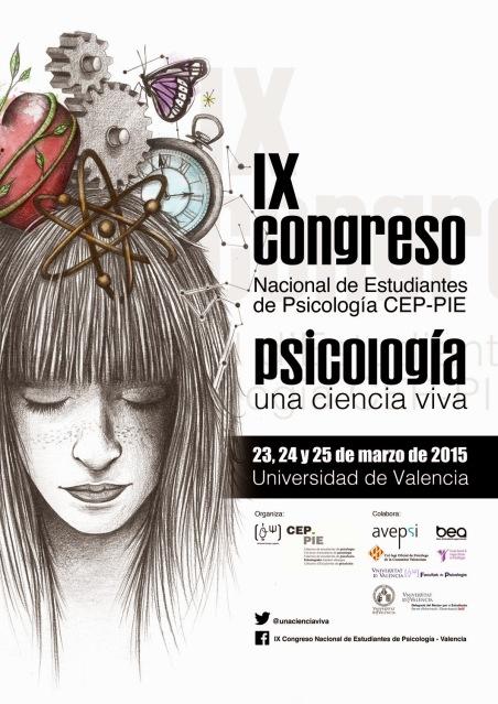 cartel congreso estudiantes psicologia